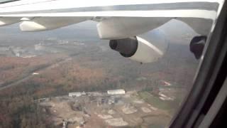 landing at malpensa airport (milan)