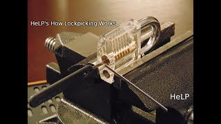 [30] Closeup On How Lock Picking Works