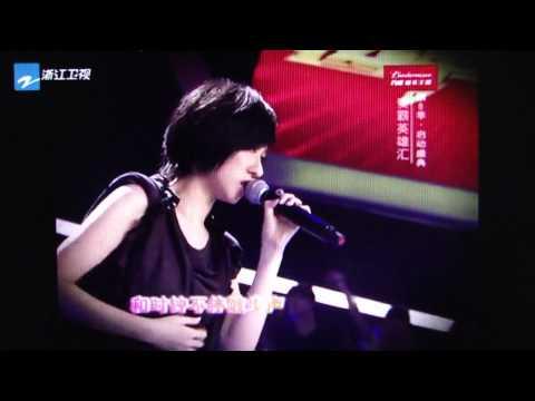泳兒Vincy Chan - 2011年最新國語歌 - 剩下的幸福(Live Version)