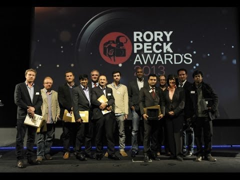 Rory Peck Awards 2013, sponsored by Sony
