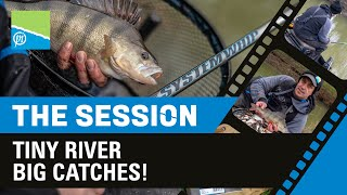 Video thumbnail for Tiny River BIG Catches! | The Session Part 5 | Michael Buchwalder Preston Innovations Match Fishing Videos