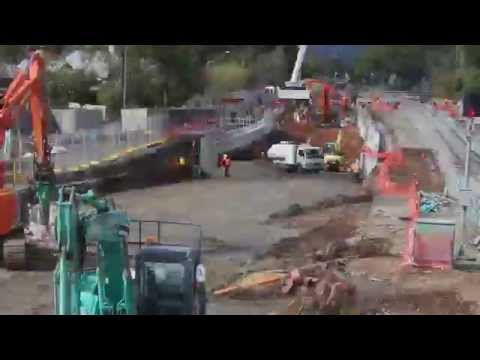 Timelapse of Goodwood Junction Upgrade