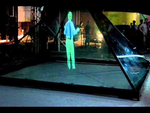 ViTech big size 3D hologram projection