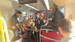 """Switchfoot """"Hello Hurricane"""" - A Trolley Show (live performance)"""