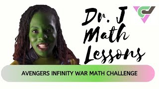 Avengers Infinity War Math Challenge