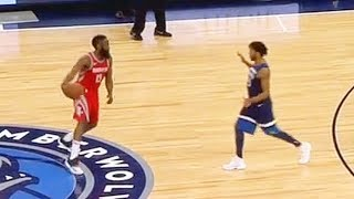 James Harden Shows Derrick Rose He Can't Be Guarded!
