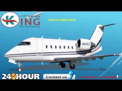King Air Ambulance Delhi cost Very Low