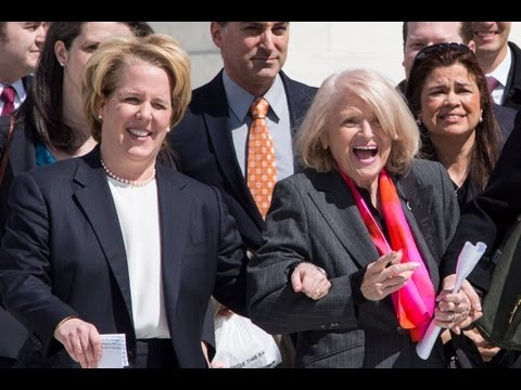 Edie Windsor Supreme Court Address on DOMA Challenge