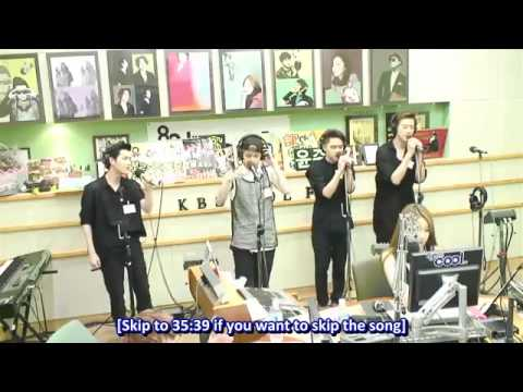 [ENG SUB] 130802 EXO @ Yoo In Na's Volume Up Radio Full Cut