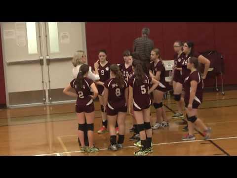 NCCS - Lake Placid JV Volleyball 10-21-13