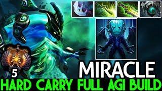 Miracle- [Morphling] Hard Carry Full Agi Build Unreal Comeback 7.21 Dota 2