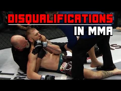 Disqualifications In MMA