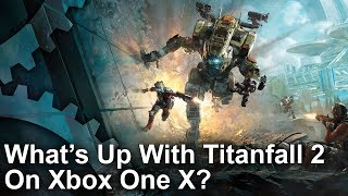 Titanfall 2 - Xbox One X vs PS4 Pro/PC Graphics Comparison