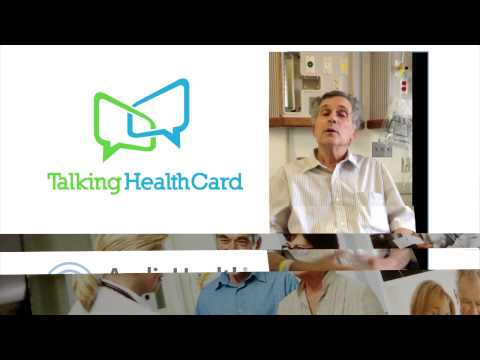 Talking HealthCards How They Help Patients HD