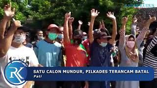 Warga di Pati Demo di Balai Desa karena Kades Mundur dari Pencalonan Pilkades