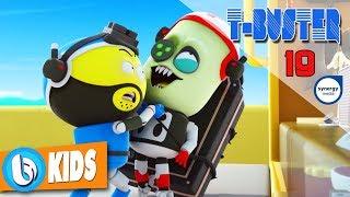Phim Hoạt Hình Robot Người Máy T-Buster tập 19   Hoạt Hình 3D Vui Nhộn 2017
