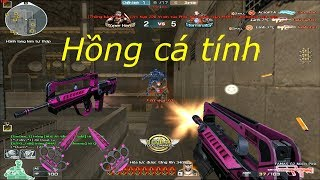 [ Bình Luận CF ] FAMAS G2-Neon Pink - Tiền Zombie v4