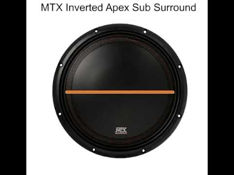 MTX Inverted Apex Surround - More SPL