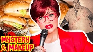 Human Hamburgers? The Very Disturbed Joe Metheny - Mystery & Makeup GRWM | Bailey Sarian