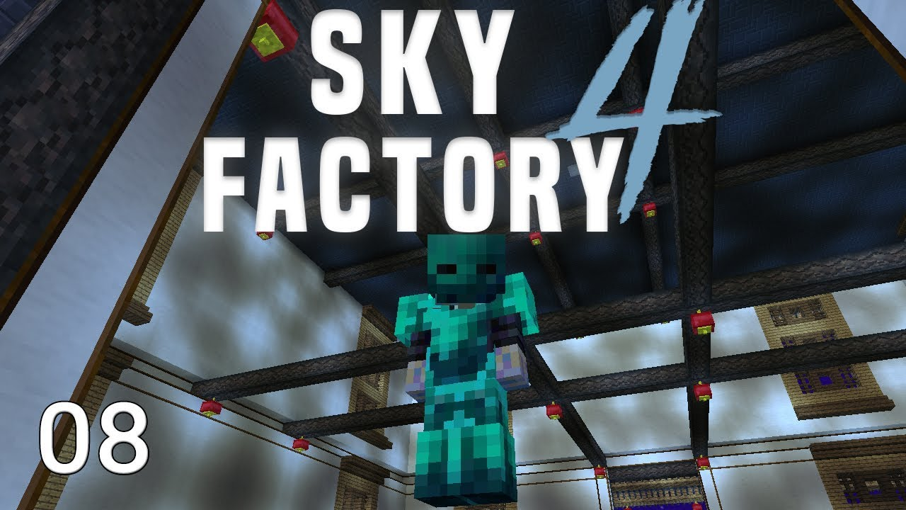 Sky Factory 4 Deep Mob Learning + Creative Flight