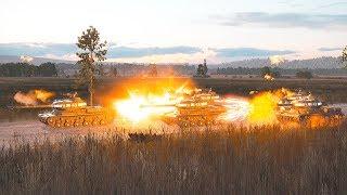 WWII Highway Defensive Line Eastern Front 1944 | Steel Division II Gameplay