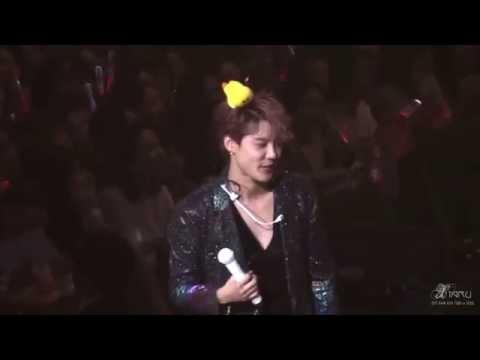 151108 XIA 4th ASIA TOUR CONCERT in SEOUL genie time 노래방 준수 Junsu ジュンス