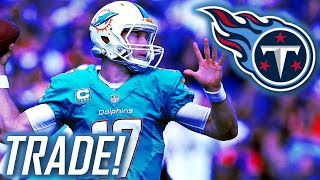 TENNESSEE TITANS TRADE FOR RYAN TANNEHILL! WILL HE COMPETE WITH MARIOTA?