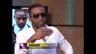 ONSTAGE - KONSHENS INTERVIEW AND SPEAKS ABOUT HIS NEW BUSINESS (SEPTEMBER 7 2013)