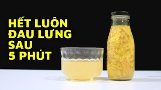 Simple Cure For Back Pain At Home Just Using Ginger Juice