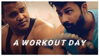 A Workout Day || Ft. Muscle Factory Gym || A Video by RayyLutions
