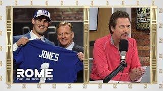Dave Gettlemen Is Totally CLUELESS For Drafting Daniel Jones   The Jim Rome Show