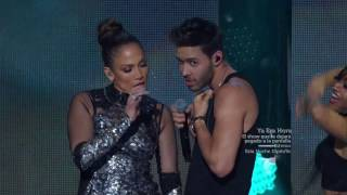 "Prince Royce feat Jennifer Lopez - ""Back it Up"" Live at iHeartRadio Fiesta Latina (Full HD)"