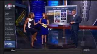 Josina Anderson Nice Profile Shots (ESPN)