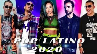 MIX POP LATINO 2020   UNA HORA Y MEDIA DE LA MEJOR MÚSICA LATINA