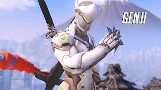 Overwatch PS4 - Genji Gameplay