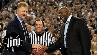Larry Bird vs. Magic Johnson: Best Player Rivalry Ever? | The Jump | ESPN