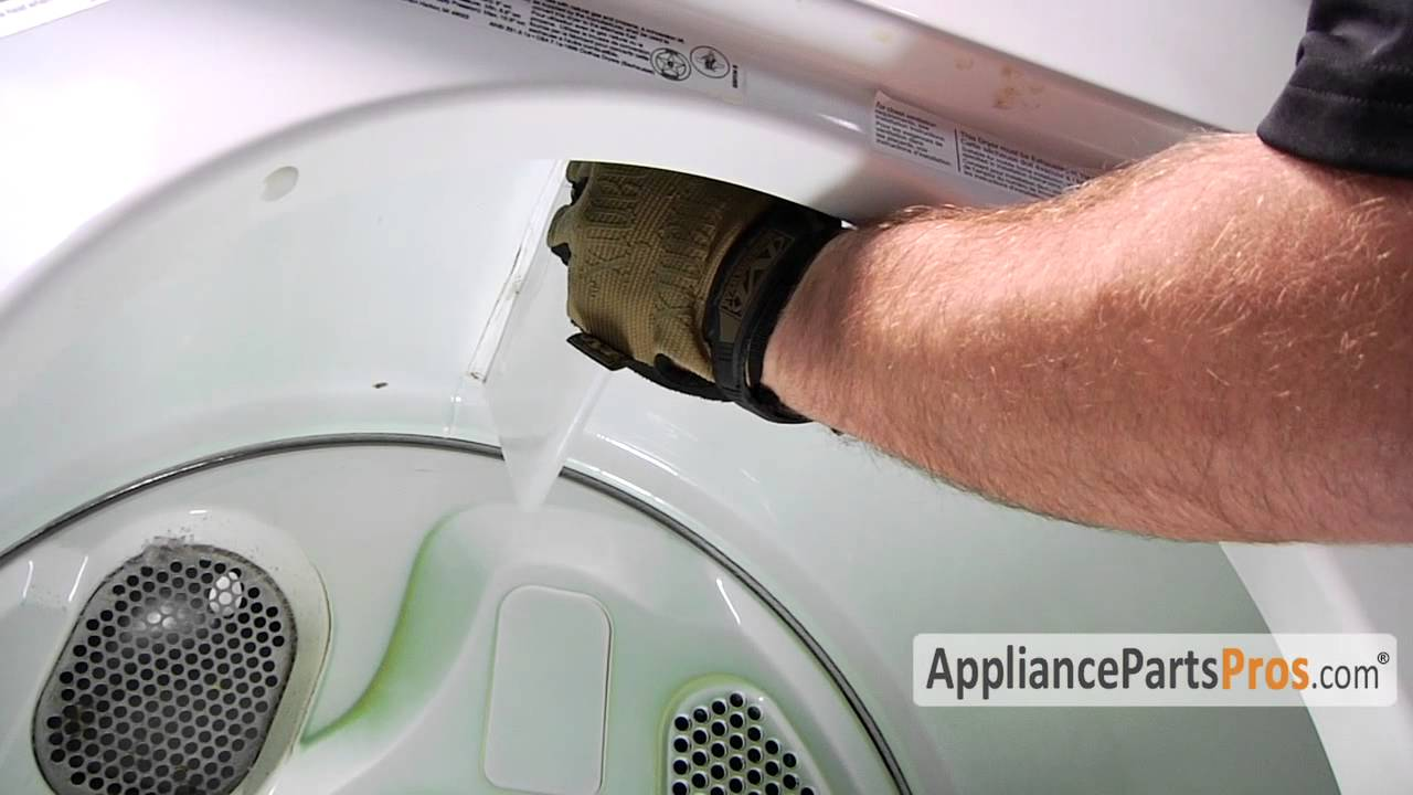 Dryer Drum Baffle Part 342847 How To Replace Youtube
