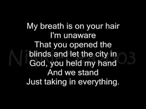 18th Floor Balcony Blue October Lyrics Youtube