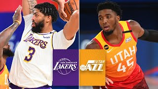 Los Angeles Lakers vs. Utah Jazz | 2019-20 NBA Highlights