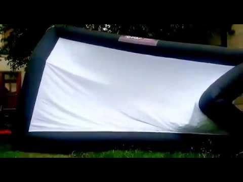 D-pulp : Ecran géant gonflable