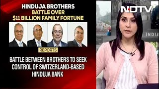 Hinduja brothers battle over $11 billion family fortune in..