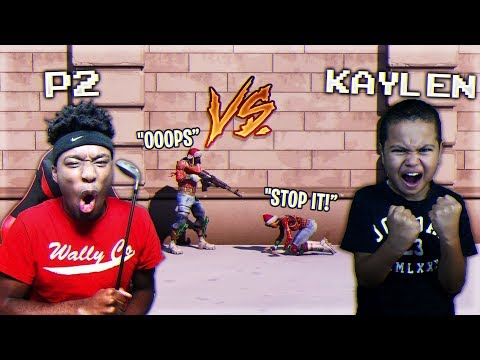 I TROLLED MindofRez's Little Brother AND MADE HIM LOSE $5000! KAYLEN VS P2 FORTNITE BEEF