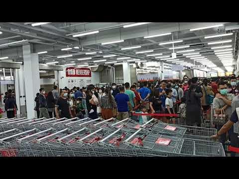 太誇張了!好市多台中北屯店新開幕滿滿的人潮(2020.11.20)