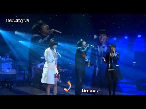 Davichi & Kim Jin Ho - Timeless LIVE [lyrics+kara]