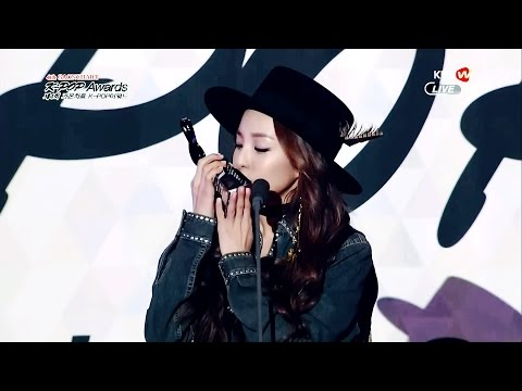 [HD] 150128 GAON CHART AWARDS 2NE1 Dara Cut