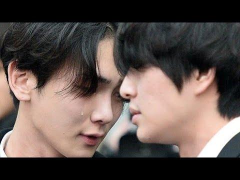 [VIDEO] SHINEE'S KEY CRYING SO HARD AT JONGHYUN'S FUNERAL