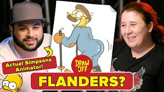 Animator Vs. Cartoonist Draw Simpsons Characters From Memory •Draw Off