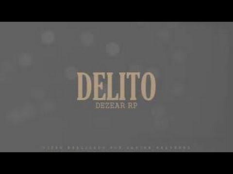 CONTIGO QUIERO ESTAR | Delito - Oliver Dezear (Lyric Video) Rap Romantico