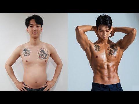 다이어트 성공영상! 100일동안 웨이트, 식단으로 어감독 사람만들기 프로젝트 ㅋㅋ (다이어트 꿀팁)