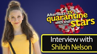 How Actress Shiloh Nelson is Surviving the Quarantine   AfterBuzz TV